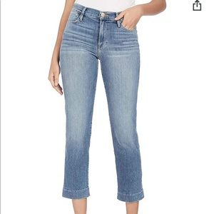 FRAME Women's Le High Straight Blindstitch Jeans